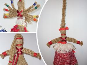 Делаем древнеславянские обереги — нитяные куколки. Ярмарка Мастеров - ручная работа, handmade.
