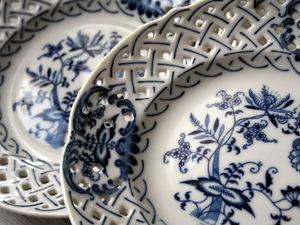 Товар дня 21 августа со скидкой 30% - Голубой Дунай, декоративные тарелки. Ярмарка Мастеров - ручная работа, handmade.