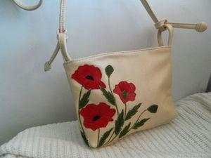 Аукцион с 0 на кожаную сумочку №4. Ярмарка Мастеров - ручная работа, handmade.