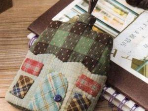 Шьем ключницу-домик (японский пэчворк). Ярмарка Мастеров - ручная работа, handmade.