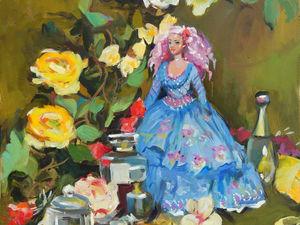 Аукцион с розыгрышем! Картины маслом + шарж!. Ярмарка Мастеров - ручная работа, handmade.