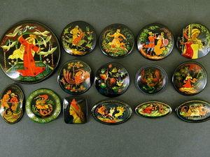 Коллекция Палех. Ярмарка Мастеров - ручная работа, handmade.