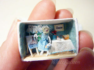 Новая микротюра - мышка   Ярмарка Мастеров - ручная работа, handmade