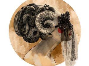 Модные знаки зодиака от Mustafa Soydan. Ярмарка Мастеров - ручная работа, handmade.