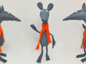 Видеоурок: делаем крыску-игрушку. Ярмарка Мастеров - ручная работа, handmade.