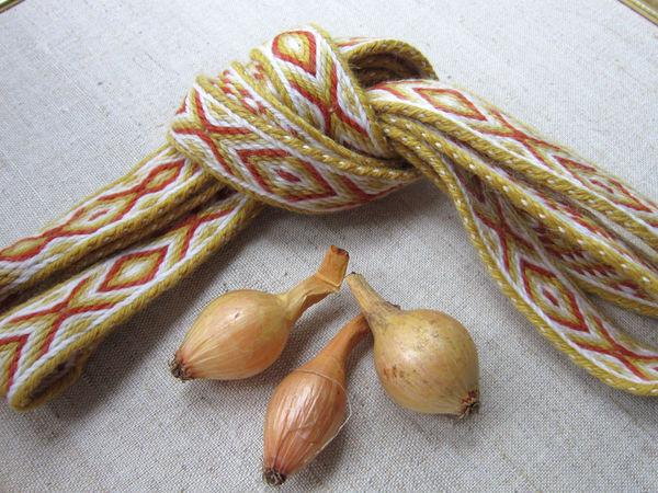 Как ведут себя некоторые шерстяные нитки при окрашивании натуральными красителями. | Ярмарка Мастеров - ручная работа, handmade