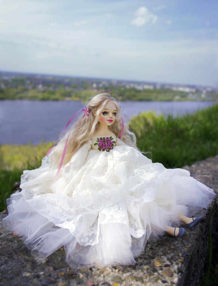 купить текстильная кукла, купить кукла ангел