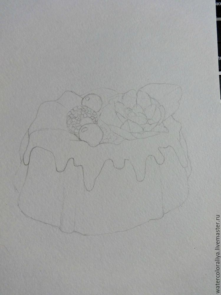 кекс, открытка в подарок