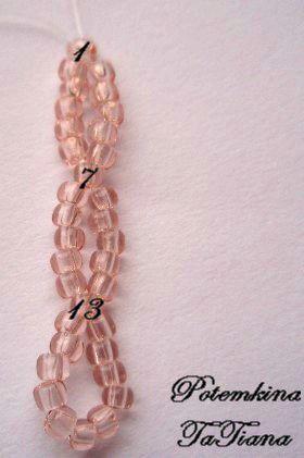 Мастер-Класс: Сетка из бисера - основа для колье - Ярмарка Мастеров - ручная работа, handmade