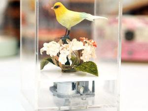 Музыкальная Заводная Птичка из Японии 1950-1970гг. Ярмарка Мастеров - ручная работа, handmade.