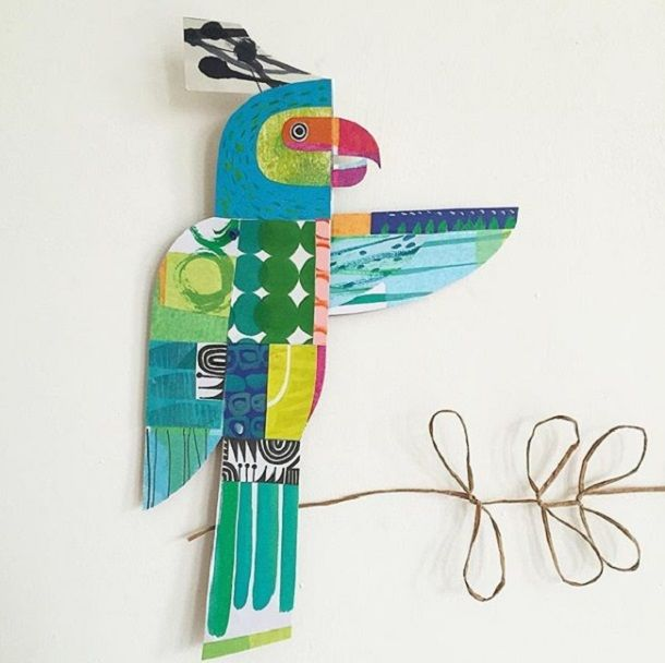 Cheerful Animals of Paper and Fabric by the Designer Clare Youngs, фото № 1