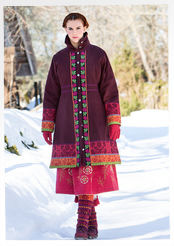"""Muhu"" cotton coat"