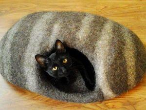 РАСПРОДАЖА продолжается, домики для кошек, цена в магазине уже со скидкой 50 %. Ярмарка Мастеров - ручная работа, handmade.