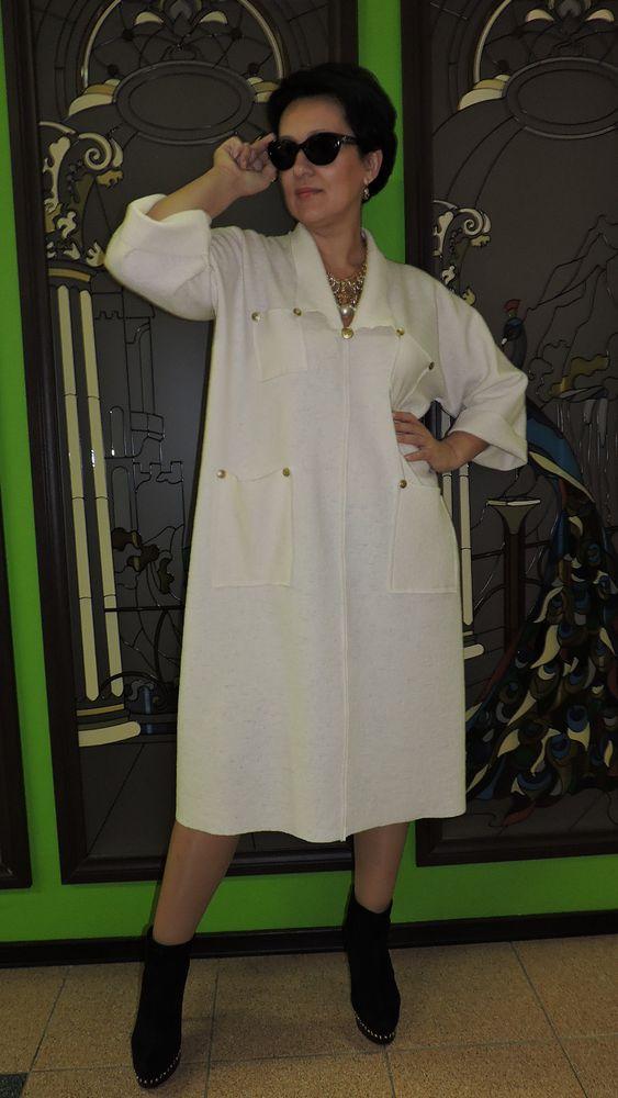 из шерсти, белое платье, натуральные материалы, модная одежда