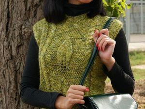 Последний зеленый лист осени !. Ярмарка Мастеров - ручная работа, handmade.
