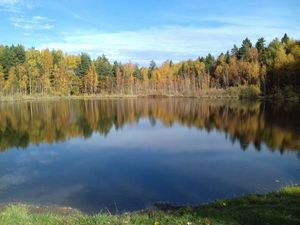 Осенняя прогулка на Черное озеро. Ярмарка Мастеров - ручная работа, handmade.