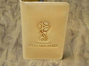К чемпионату мира по футболу родился вот такой кошелек. Ярмарка Мастеров - ручная работа, handmade.