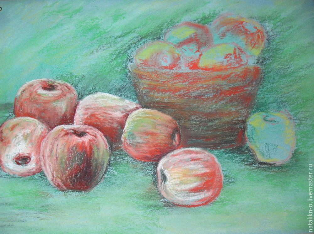 как рисовать яблоки