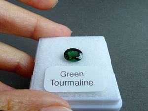 Турмалин зеленый, 2 карата. Ярмарка Мастеров - ручная работа, handmade.