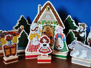 Сказочные персонажи для ваших малышей. Ярмарка Мастеров - ручная работа, handmade.