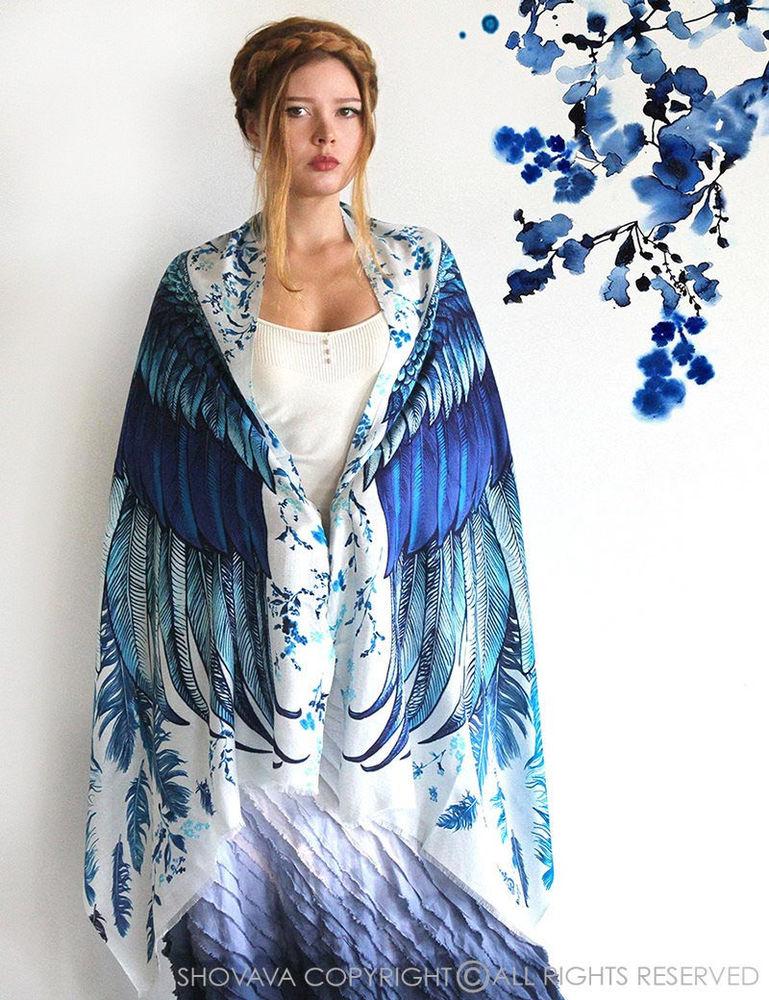 Когда вырастают крылья: завораживающие палантины Розы Хамитовой, фото № 4