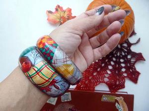 """Новые браслеты. """"Уютный ноябрь"""". Ярмарка Мастеров - ручная работа, handmade."""