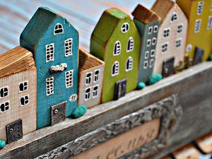 Мастер классы по ключницам и календарям с домиками. Ярмарка Мастеров - ручная работа, handmade.