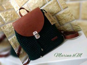 Обзор стильного осеннего рюкзака. Ярмарка Мастеров - ручная работа, handmade.