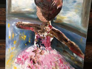 Видео к картине Little ballerina | Ярмарка Мастеров - ручная работа, handmade