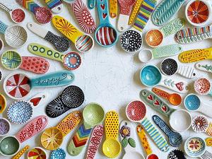 Роман с глиной: яркая керамика Charity Hofert. Ярмарка Мастеров - ручная работа, handmade.