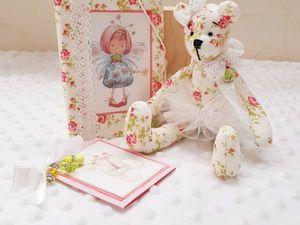 Подарочный набор Мишка и фея. Ярмарка Мастеров - ручная работа, handmade.