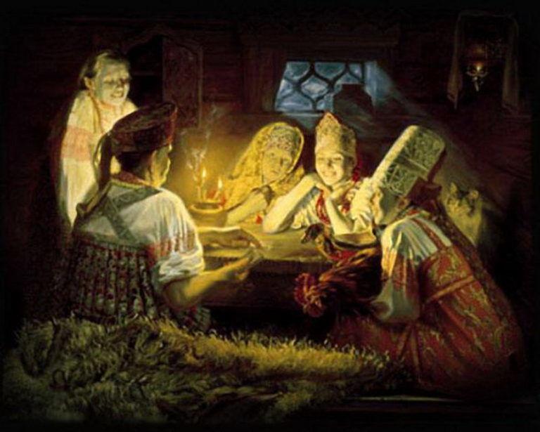 магия для жизни, славянская история, велесовы святки, славянские традиции, коляда