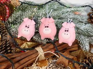 Подарочные наборы со свинками!. Ярмарка Мастеров - ручная работа, handmade.