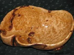 Ваза деревянная из капа березы. Ярмарка Мастеров - ручная работа, handmade.