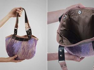 """Розыгрыш валяной сумочки """"Лаванда"""" завершен!. Ярмарка Мастеров - ручная работа, handmade."""