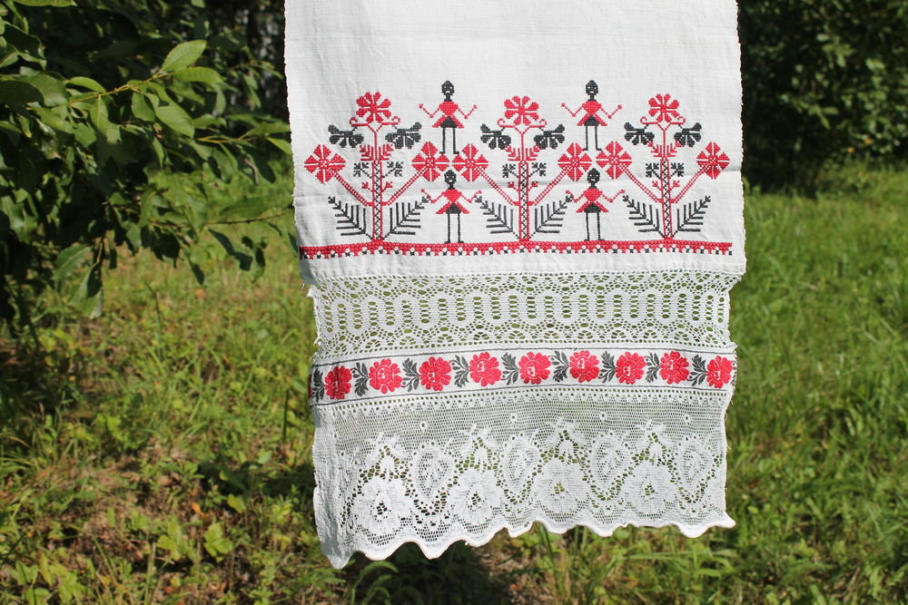 русский стиль, славянские мотивы, символизм, домотканный лен