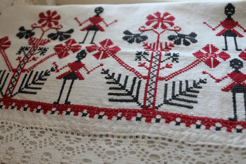 славянский стиль, славянские мотивы 2017, о чем говорит вышивка, льняное полотно
