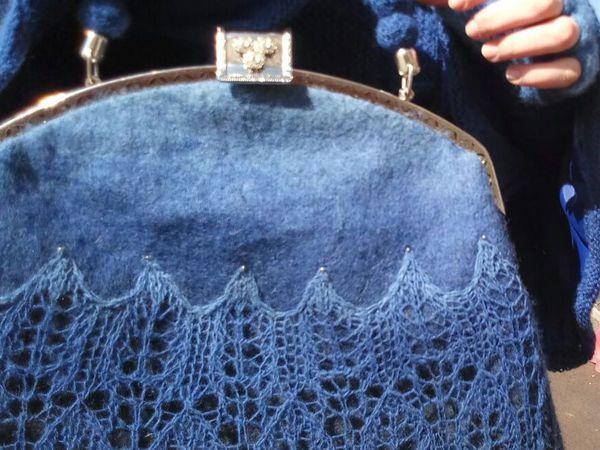 3771502d8ca3 Мастер-класс: как сделать сумку с двойным фермуаром | Ярмарка Мастеров - ручная  работа