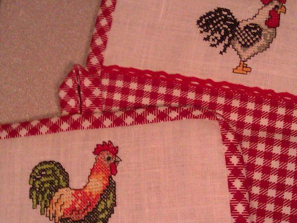 НОВИНКА! Скоро кухонный комплект с красавцами петухами! | Ярмарка Мастеров - ручная работа, handmade