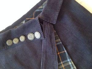 50% СКИДКА на вельветовую юбку с запАхом. Ярмарка Мастеров - ручная работа, handmade.