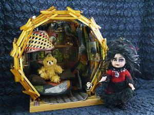 Новая кукла Алхимик и Кукольный домик. Ярмарка Мастеров - ручная работа, handmade.