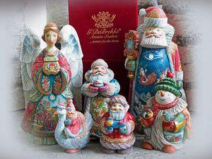 Коллекционные игрушки в русском стиле от G.DeBrekht | Ярмарка Мастеров - ручная работа, handmade