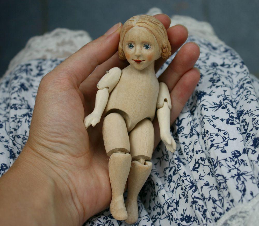 кукла, коллекционная кукла, шарнирная кукла, деревянная кукла