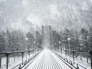 Кусочек зимнего Горного Алтая: для души. Ярмарка Мастеров - ручная работа, handmade.