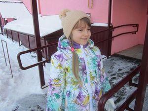Зимняя куртка для девочки со скидкой 50%!!!. Ярмарка Мастеров - ручная работа, handmade.
