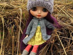 Осенний комплект одежды для Блайз. Ярмарка Мастеров - ручная работа, handmade.