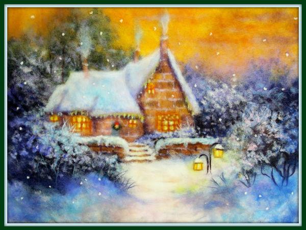 Рождественские скидки на зимние сюжеты с видео МК!!!!!!! | Ярмарка Мастеров - ручная работа, handmade