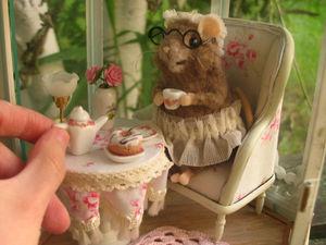 Летний домик для маленькой мышки. Ярмарка Мастеров - ручная работа, handmade.