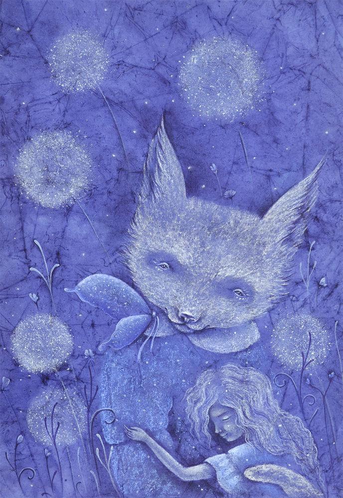 придет серенький волчок, сказка сказок, картина для детской, волк