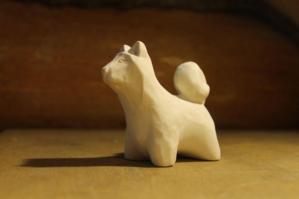 деревянная собачка, липа